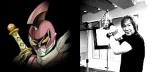 ノイタミナ新作『サムライフラメンコ』劇中歌「その名はレッドアックス!-〜武装超神-レッドアックスのテーマ〜」を歌う串田アキラ(C)manglobe/Project Samumenco