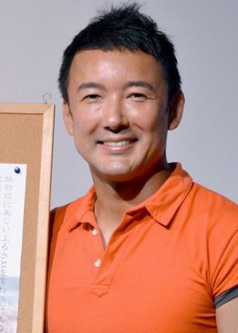 映画『朝日のあたる家』公開記念舞台あいさつに出席した山本太郎氏 (C)ORICON NewS inc.