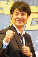 映画『タイガーマスク』スペシャルプレミア試写会イベントに出席した落合賢監督 (C)ORICON NewS inc.