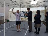 ギネス世界記録を達成した団長安田