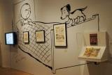 東京・六本木ヒルズの森アーツセンターギャラリーで開幕した『スヌーピー展 しあわせは、きみをもっと知ること。Ever and Never: the art of PEANUTS』 (C) 2013 PNTS