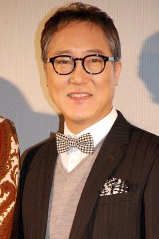 映画『オー!ファーザー』の舞台あいさつに出席した佐野史郎 (C)ORICON NewS inc.