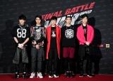 デビューが決まったWINNERのメンバー(左より)カン・スンユン(Vo、リーダー)、ソン・ミンホ(Rap)、キム・ジンウ(Vo)、ナム・テヒョン(Vo)、イ・スンフン(Rap)