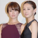 女性同士のキスに初挑戦した(左から)深田恭子、北川景子 (C)ORICON NewS inc.