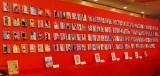 コミックス170巻の展示=漫画『ゴルゴ13』生誕45周年を祝う会 (C)ORICON NewS inc.