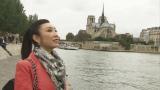 11月22日放送の『SONGSスペシャル松任谷由実〜生きるよろこび 歌にこめて〜』。パリで語った新曲「シャンソン」への思い、今、歌で伝えたいこととは?(C)NHK
