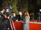 第8回ローマ国際映画祭で取材を受ける黒沢清監督