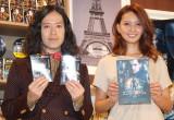 映画『エンダーのゲーム』公開記念イベントに出席した(左から)ピース・又吉直樹、加藤夏希 (C)ORICON NewS inc.