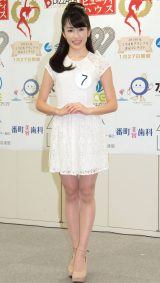 2014年度ミス日本コンテスト候補者の神田れいみさん (C)ORICON NewS inc.