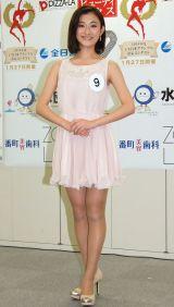 2014年度ミス日本コンテスト候補者の尾崎優子さん (C)ORICON NewS inc.