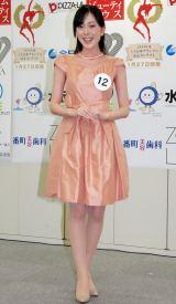 2014年度ミス日本コンテスト候補者の本田華奈子さん (C)ORICON NewS inc.