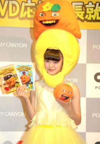海外アニメーション『アノーイングオレンジ』DVD応援隊長就任会見に出席したAKB48・市川美織 (C)ORICON NewS inc.