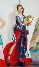 『2013 ミス・インターナショナル世界大会』日本代表の高橋有紀子さん (C)ORICON NewS inc.