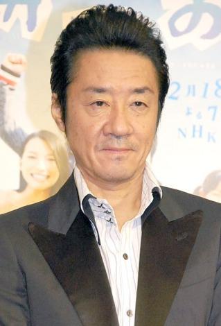 NHKドラマ『かつお』の記者会見に出席した大友康平 (C)ORICON NewS inc.
