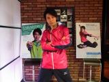 自ら考案したダンスエクササイズ『世界が認めるスーパーダンサーTAKAHIROが考案! アニソン・エクササイズ』を発表したTAKAHIRO