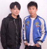 舞台「ライチ☆光クラブ」に出演する木村了(左)と中尾明慶 (C)ORICON NewS inc.
