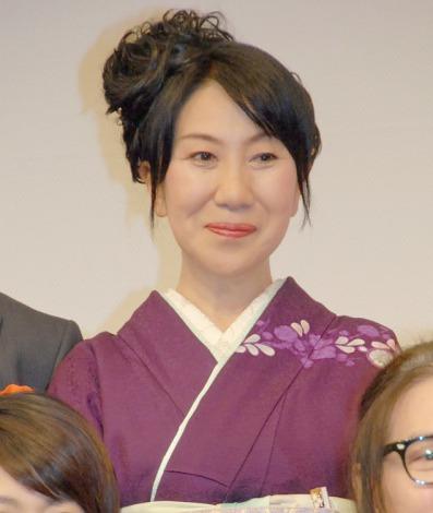 映画『小さいおうち』の歌舞伎座プレミアに出席した室井滋 (C)ORICON NewS inc.