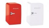 レトロなデザインが特徴的なミニサイズの温冷庫『Mini-fridge』