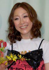 公開プロポーズしたクワバタオハラ・小原正子(写真は2009年4月、相方くわばたりえの結婚会見の時のもの)(C)ORICON NewS inc.