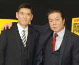 『隠蔽捜査』でW主演する(左から)杉本哲太、古田新太 (C)ORICON NewS inc.