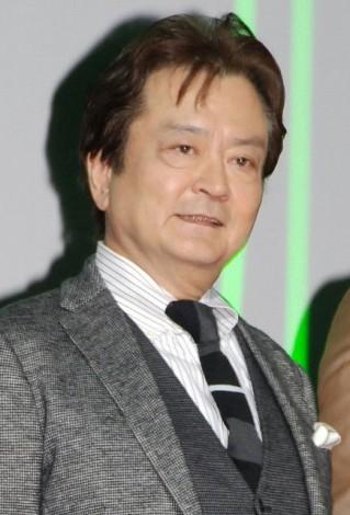 映画『BUDDHA2 手塚治虫のブッダ−終わりなき旅−』の完成披露舞台あいさつに出席した大和田伸也DSC_0596 (C)ORICON NewS inc.