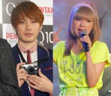 結婚を発表したTHE BAWDIES・ROYとモデル・AMO (C)ORICON NewS inc.