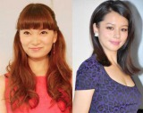 (左から)保田圭とビビアン・スー (C)ORICON NewS inc.