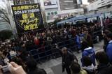 BiSの解散発表に盛り上がる観客