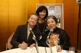 ニッポン放送『高田文夫のラジオビバリー昼ズ』に出演した(左から)高田文夫、松本明子、樹木希林
