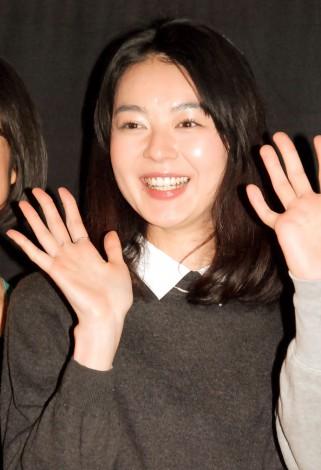 映画『愛の渦』完成披露試写会に出席した中村映里子 (C)ORICON NewS inc.