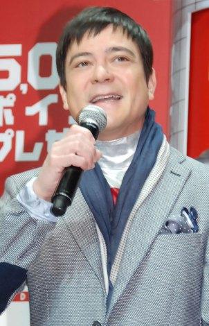 浅田選手らにエールを送った川平慈英 (C)ORICON NewS inc.
