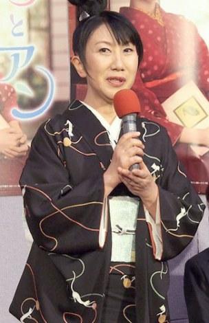 連続テレビ小説『花子とアン』で主人公の母親役を演じる室井滋 (C)ORICON NewS inc.