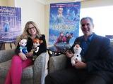 『第86回アカデミー賞』で長編アニメーション映画賞と主題歌賞を受賞したディズニーの『アナと雪の女王』(左から)ジェニファー・リー監督、クリス・バック監督 (C)ORICON NewS inc.
