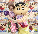『クレヨンしんちゃん』のTVシリーズに続いて映画の主題歌も担当するきゃりーぱみゅぱみゅ