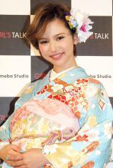 サイバーエージェント『GIRL'S TALK』 新GT川柳大賞発表会に出席した水沢アリー (C)ORICON NewS inc.