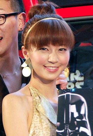 一般男性とのホワイトデー婚を発表した安田美沙子 (C)ORICON NewS