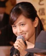 2夜連続大型ドラマ『LEADERS リーダーズ』で初めて人妻役を演じている前田敦子 (C)ORICON NewS inc.
