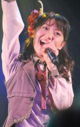 最後の『ミュージックステーション』で卒業曲など3曲を熱唱した大島優子 (C)ORICON NewS inc.