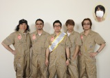 『宇宙兄弟』原作者・小山宙哉氏(中央)とユニコーンが8月公開の映画で再タッグ