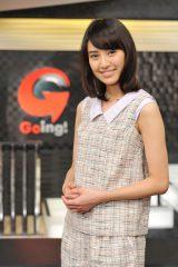 「Going!」新お天気キャスターに起用された岡本あずさ(C)日本テレビ