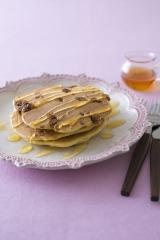 『市販のお菓子で!ハッピーアレンジ Recipe92』(主婦と生活社) リコッタチーズのパンケーキ