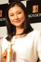 『LUX BIO FUSION Presents 新美髪術公開トークセッション』に出席した菊川怜 (C)oricon ME inc.