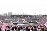 AKB48初の国立ライブ初日公演の模様(29日撮影)