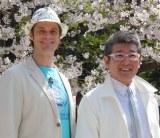 セーラーズの大ファン(左から)セインカミュ、布川敏和 (C)ORICON NewS inc.
