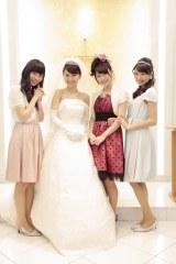 大島優子のウエディングドレス姿も(「世界の風を僕らは受けて」のMVより)