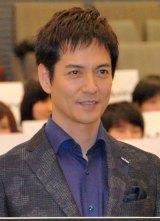 ドラマ『ブラック・プレジデント』のスペシャルイベントに出席した主演の沢村一樹 (C)ORICON NewS inc.
