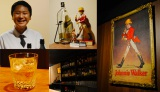 お話を伺った東京・幡ヶ谷のバー「ウォーカー」 渡辺さんこだわりのウイスキーを多数扱っている