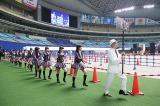 HKT48メンバー入場=SKE48・HKT48がナゴヤドームで48グループ初の合同握手会開催