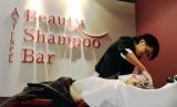 女性限定のシャンプーサロン『ASIENCE Beauty Shampoo Bar』が限定オープン (C)oricon ME inc.