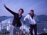 長崎・小値賀島へ、デビュー15周年の氷川きよしと先輩・山川豊が二人旅!(C)テレビ朝日